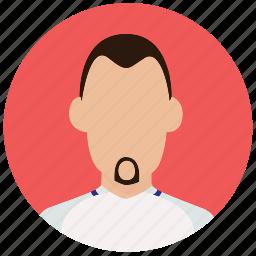 avatar, football, inggris, man, player, skuad, soccer icon