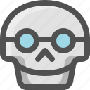 avatar, death, emoji, face, lennon, nerd, skull, smart, smiley