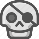 avatar, death, disguisse, emoji, face, patch, pirate, skull, smiley, virus