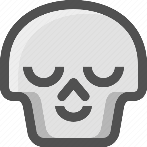 Avatar, chill, death, emoji, face, relax, satisfied icon - Download on Iconfinder