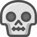 avatar, death, emoji, face, no words, silence, skull, smiley