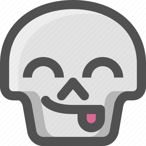 'Skull emoji faces' by Magicons