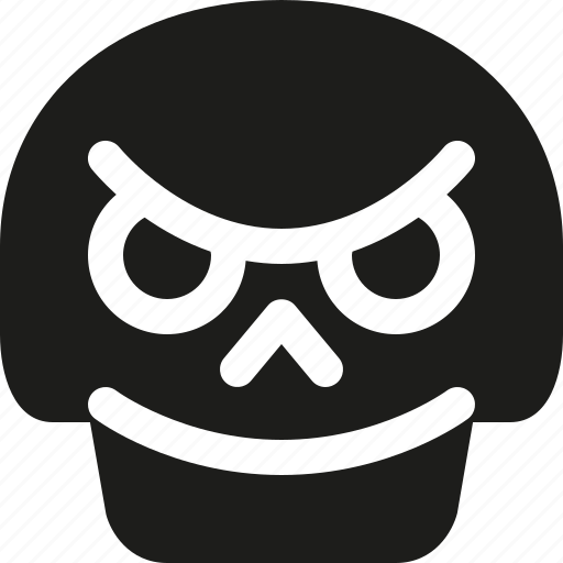 avatar, bad, death, emoji, face, skull icon