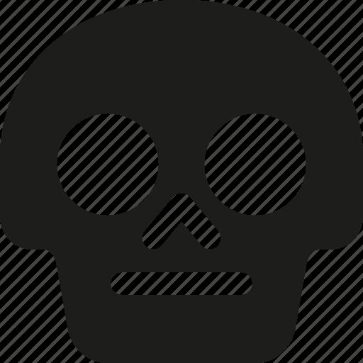 Avatar, death, emoji, face, neutral, skull icon - Download on Iconfinder