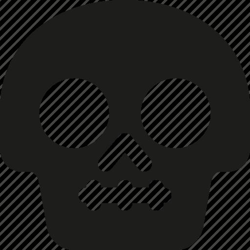 Avatar, death, emoji, face, silence, skull icon - Download on Iconfinder