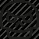 avatar, bad, death, emoji, face, skull, smiley