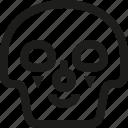 avatar, clown, death, emoji, face, skull, smiley icon