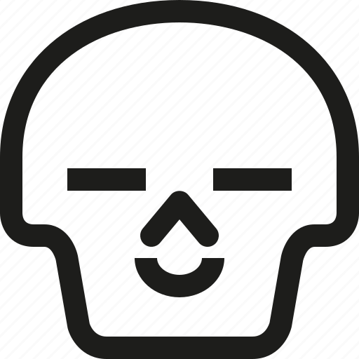 Avatar, death, emoji, face, satisfied, skull, smiley icon - Download on Iconfinder