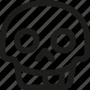 avatar, death, emoji, face, skull, smiley, tongue