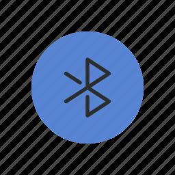 bluetooth, connection, data, digital, information, transfer, transmission icon