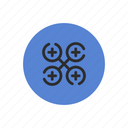 air, drone, flying, gadget, propeller, remote icon
