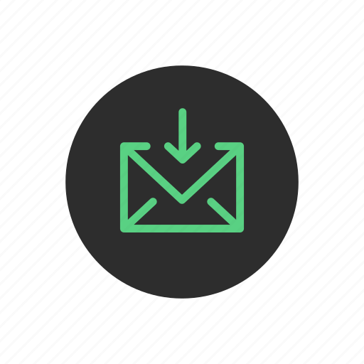 email, inbox, incoming, mail, receive, receiving icon