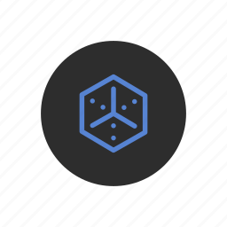cube, dimensional, dimensions, geometry, symmetry, volume icon