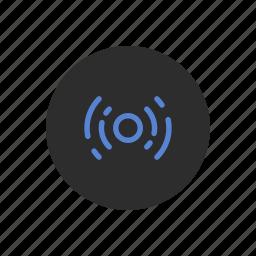 frequency, internet, radio, signal, sound, vibration, waves icon