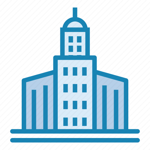 architecture, big city, building, city, house, office, skyscraper icon