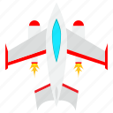 fly, fighter, aircraft, airport, plane, flight icon