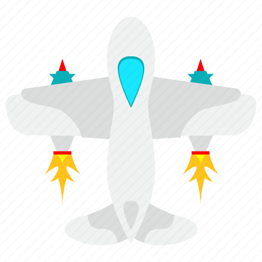 aircraft, airport, fighter, flight, fly, plane icon