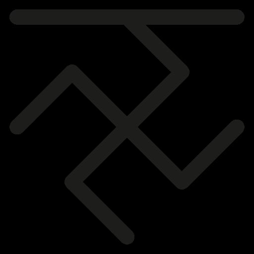 boar, rune, slavic calendar, slavic symbols icon