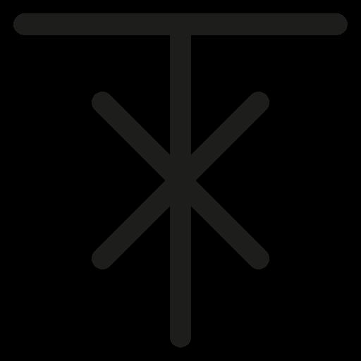 elk, rune, slavic calendar, slavic symbols icon