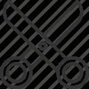 art, creative, design, graphic, illustration, scissors, tool icon