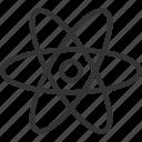 atom, eco, ecology, energy, environment, matter, power icon