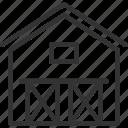agriculture, barn, farm, farming, garden, nature, warehouse icon