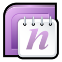 2007, microsoft, office, onenote icon