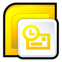 microsoft, office, 2007, outlook icon