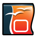 impress, office, open icon