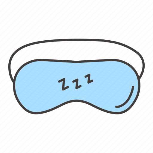 accessory, dream, eyes, mask, night, protection, sleep icon