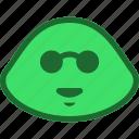 emoticon, holiday, slime icon