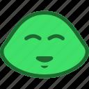 emoticon, laugh, slime icon