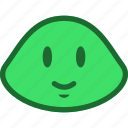 emoticon, slime, smile icon