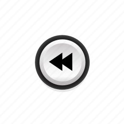 buttons, fast, navigation, not, player, pressed, rewind icon