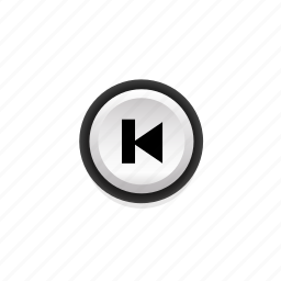 buttons, navigation, not, player, pressed, previous, with icon