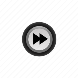 buttons, fast, forward, navigation, player, pressed, ui icon