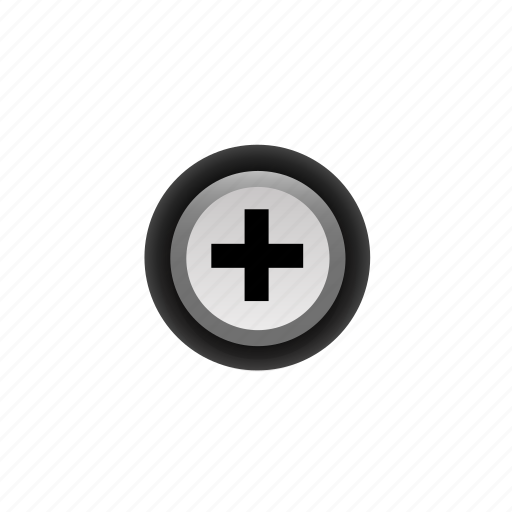 +, add, buttons, navigation, plus, pressed, with icon