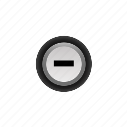 -, buttons, minus, navigation, pressed, ui, with icon