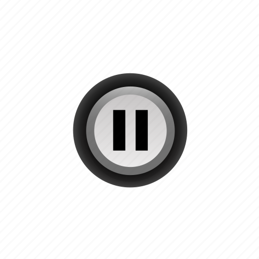 buttons, navigation, pause, pressed, ui, with icon