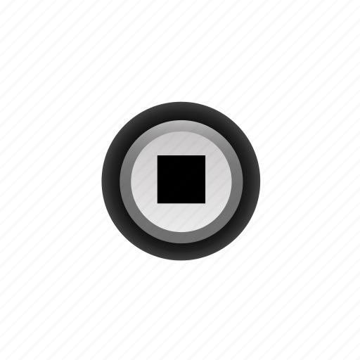buttons, navigation, player, pressed, stop, ui, with icon
