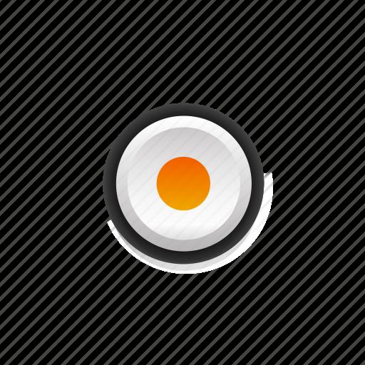 active, buttons, color, navigation, orange, point, ui icon