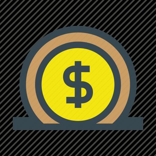 bank, currency, deposit, finance, financial, money, save, savings icon