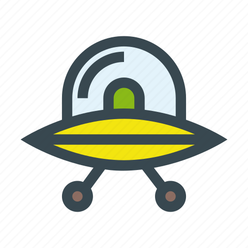 extraterrestrial, flying, invader, saucer, spaceship, ufo icon
