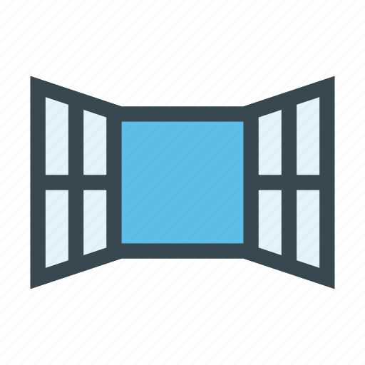 frame, home, opening, room, window icon