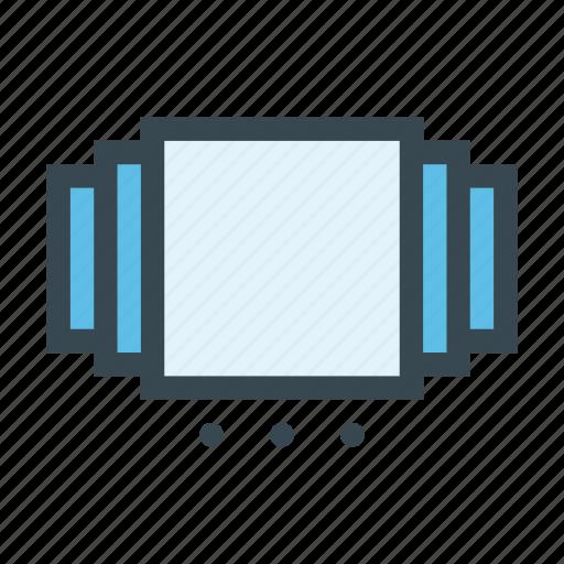 album, boxes, carrousel, images, slider icon