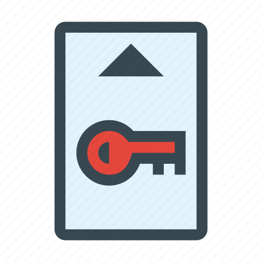 card, key, locked, secure, security icon