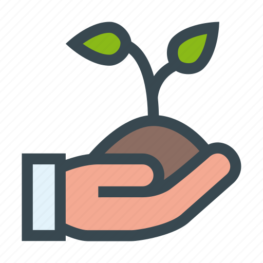 care, ecology, environment, hand, nature, tree icon