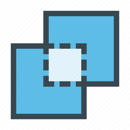 combine, intersect, intersection, merge, pathfinder icon