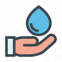 drop, eco, ecology, energy, environment, save, water icon