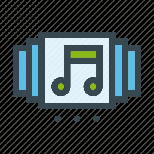 album, listen, music, select, slide, slider, spotify icon